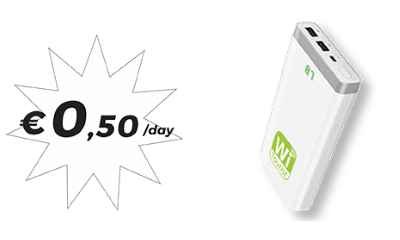 Power Bank - 0,50€/day