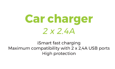 Car Charger - 0,20€/day
