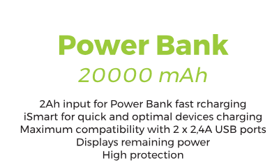 Power Bank - 0,45€/day