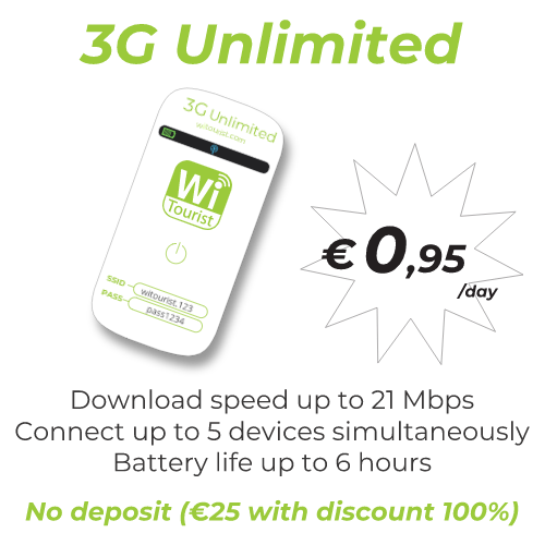 pocket Wifi 3G Unlimited