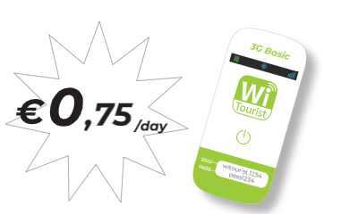 pocket wifi 3G Basic - Truly Unlimited