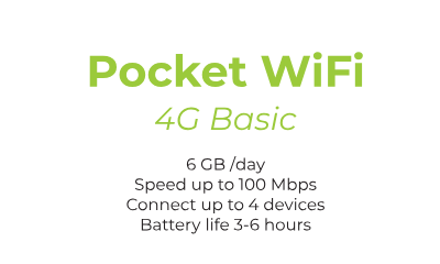 pocket wifi 4G Smart - Truly Unlimited