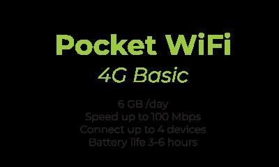 pocket wifi 4G Smart - Truly Unlimited